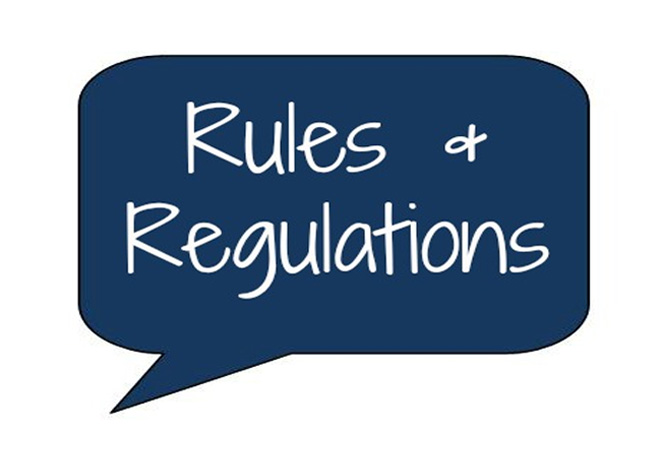 Our Rules & Regulations